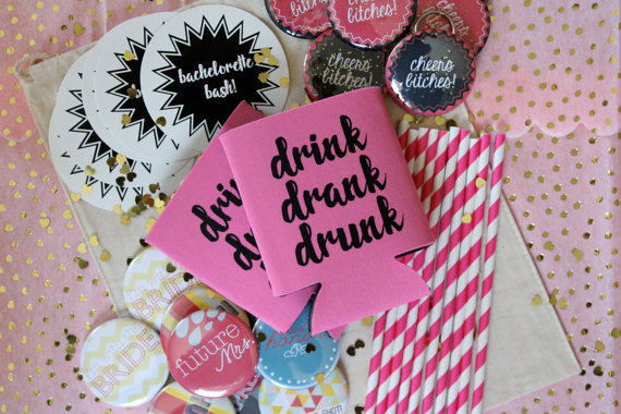 bachelorette party ideas - bachelorette party kit