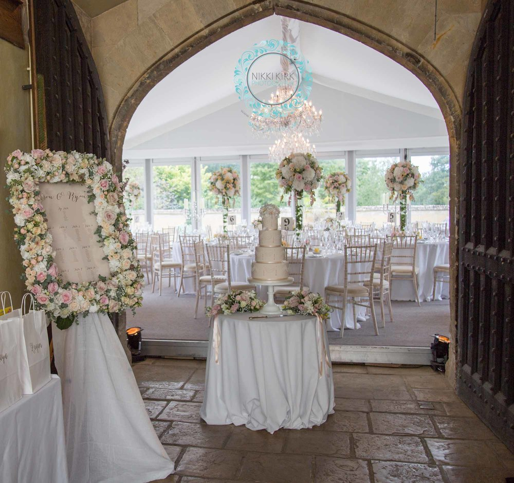 Elegant UK Castle Wedding