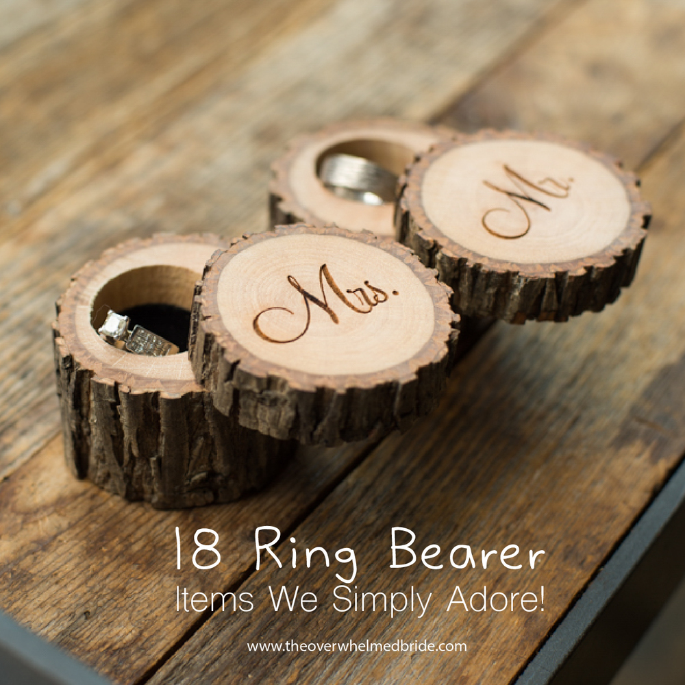 cute ring bearer items