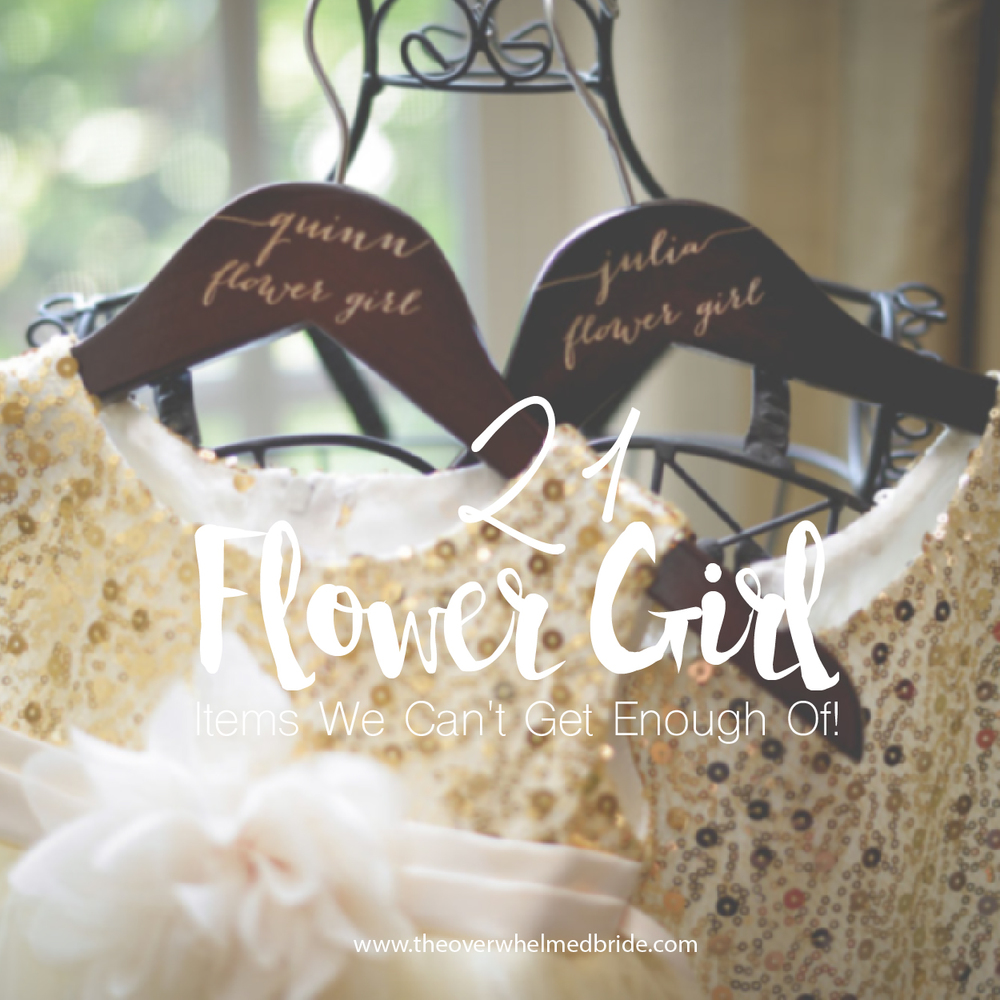 flower girl dresses and flower girl accessories