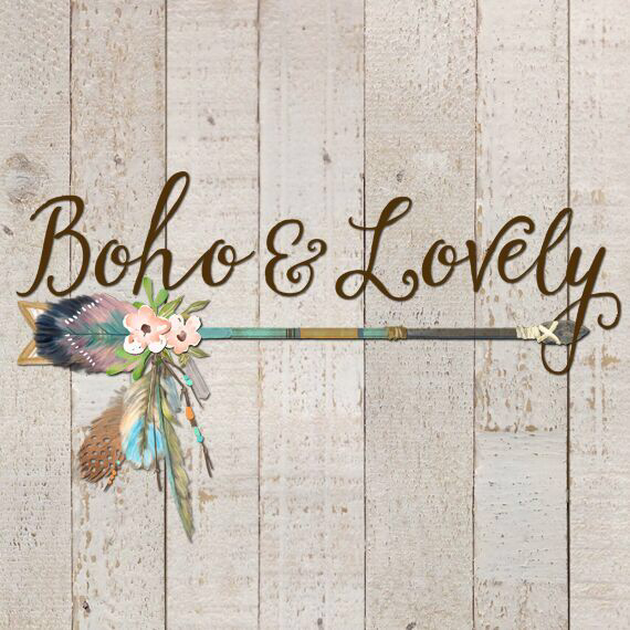 boho wedding items