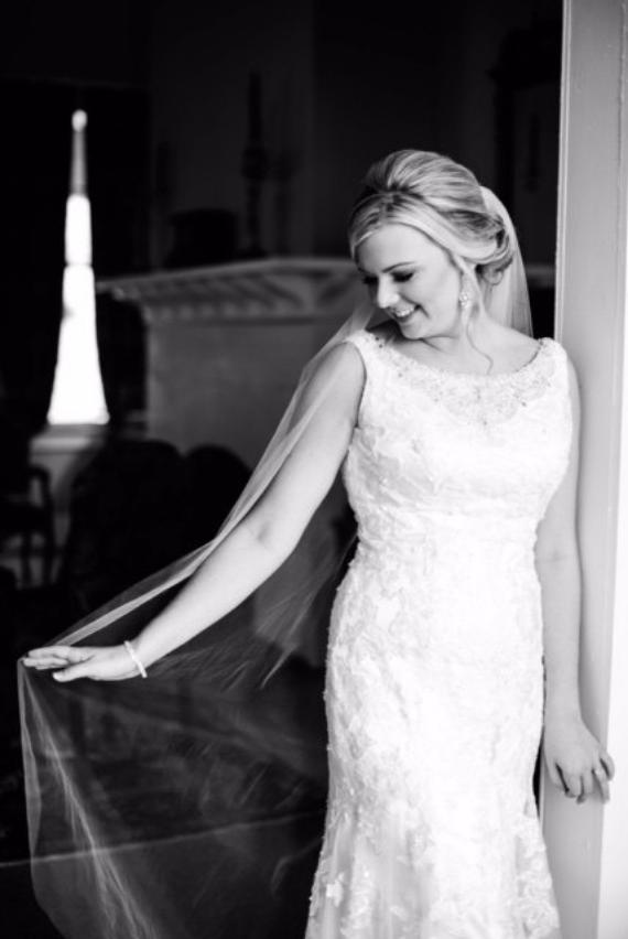 inexpensive bridal veils