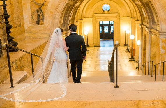 inexpensive wedding veils