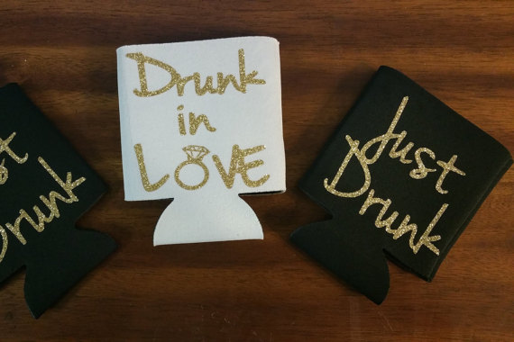 Drink In Love Beer Koozie