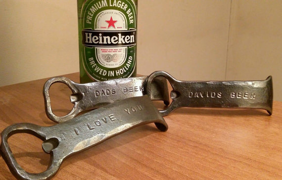 Personalized Bottle Opener Groomsman Gift