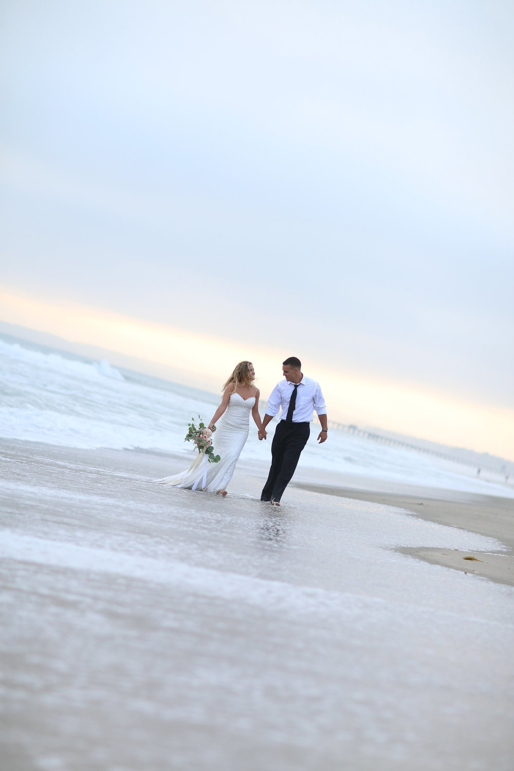 orange county california beach wedding photography - bleudog fotography