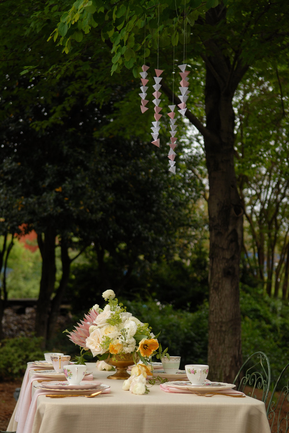 A Timeless, Romantic North Carolina Secret Garden Wedding