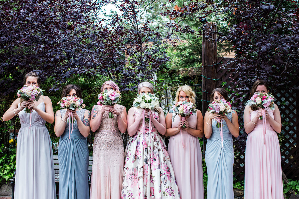 Inn of the Seventh Ray Wedding - Garden Wedding