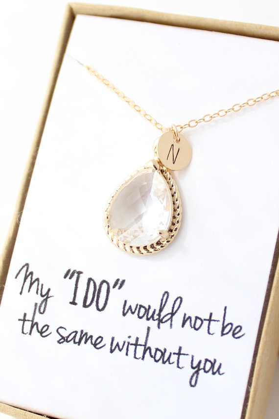 card necklace shop on bridesmaids love friend bridal sterling hidden etsy code silver message wedding morse shower filled best mom jewelry for savings gift or beaded bridesmaid custom set gold