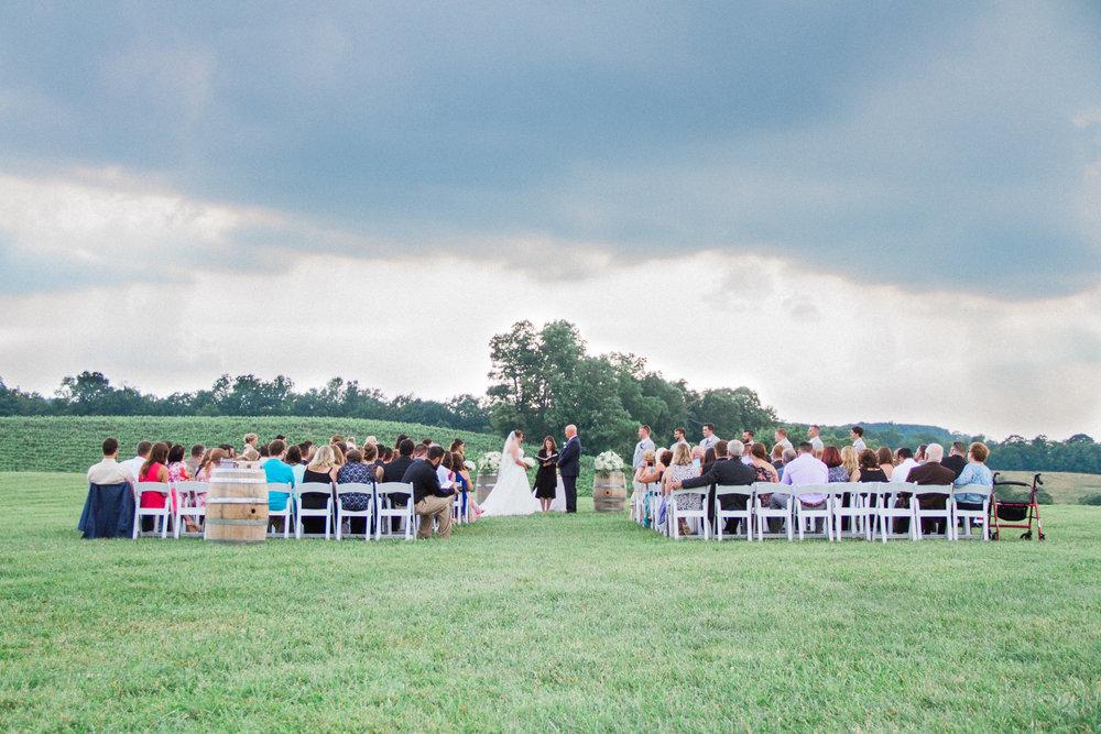 Maryland Vineyard Wedding at Linganore Winery