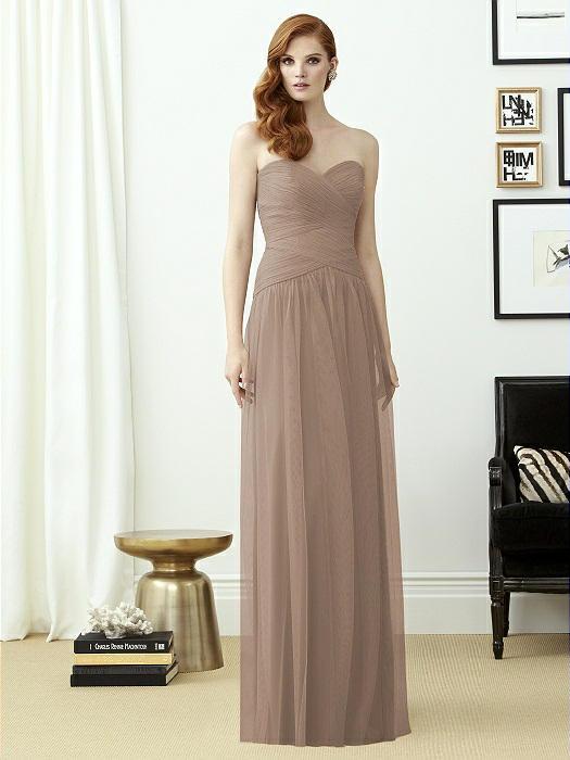 Full Length Fall Bridesmaid Dresses
