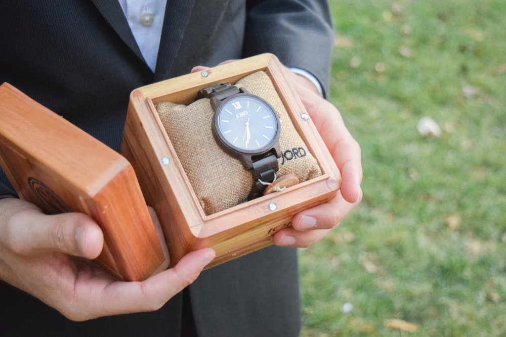 JORD Men's Wooden Watch - FRANKIE Series - Groom's Gift Idea