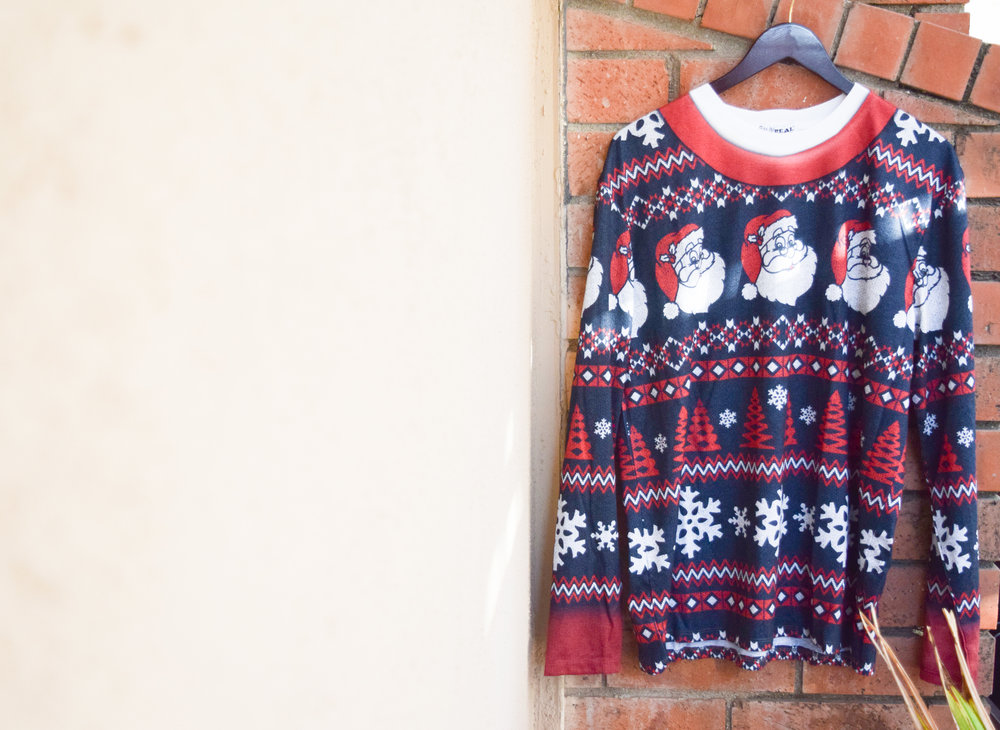 A Non-Traditional Holiday Themed Engagement Party - Ugly Sweaters by Faux Real