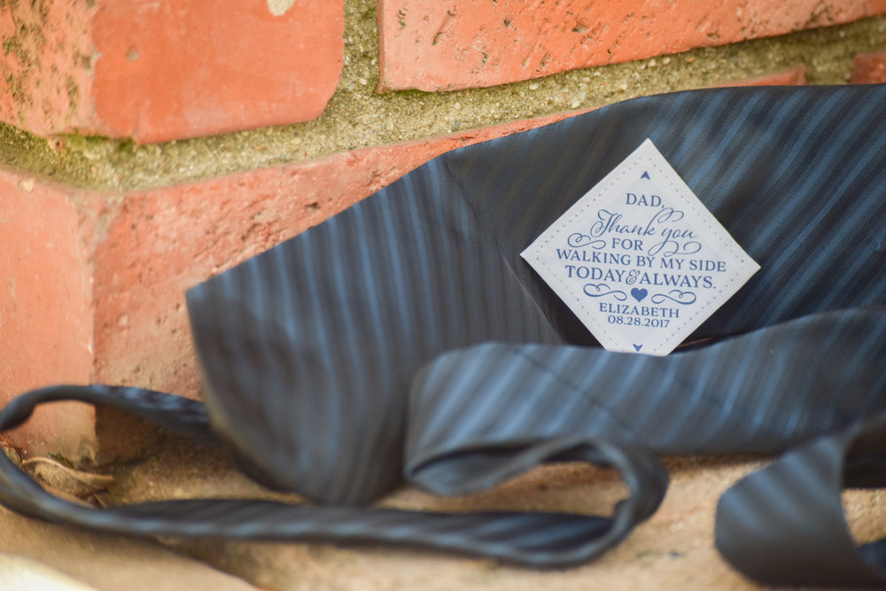 The Bridal Boutique | Father of the Bride Tie Patch by Shannah J Smith