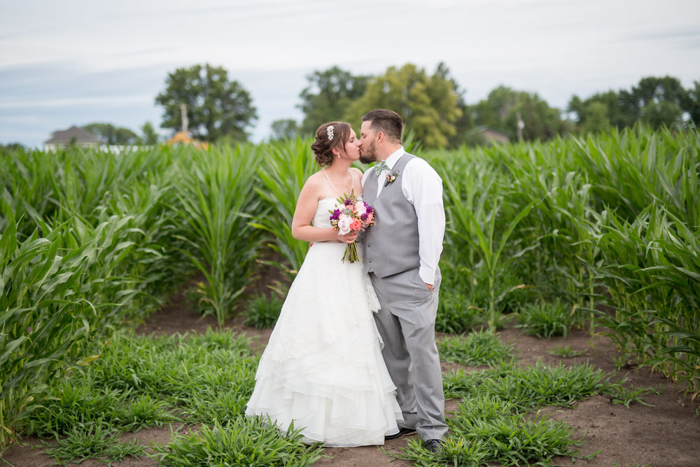 A Private Residence Rock Falls, Illinois Farm Wedding- Danielle Marie Photography