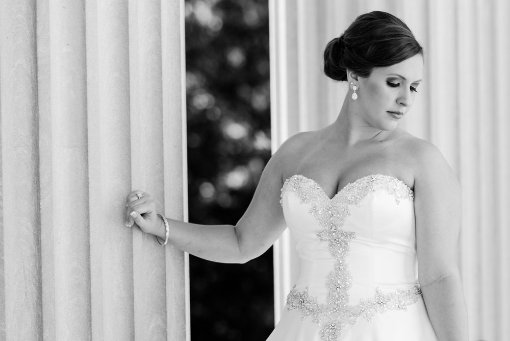 Beautiful Bride - A Black Tie, South Carolina Commerce Club Wedding