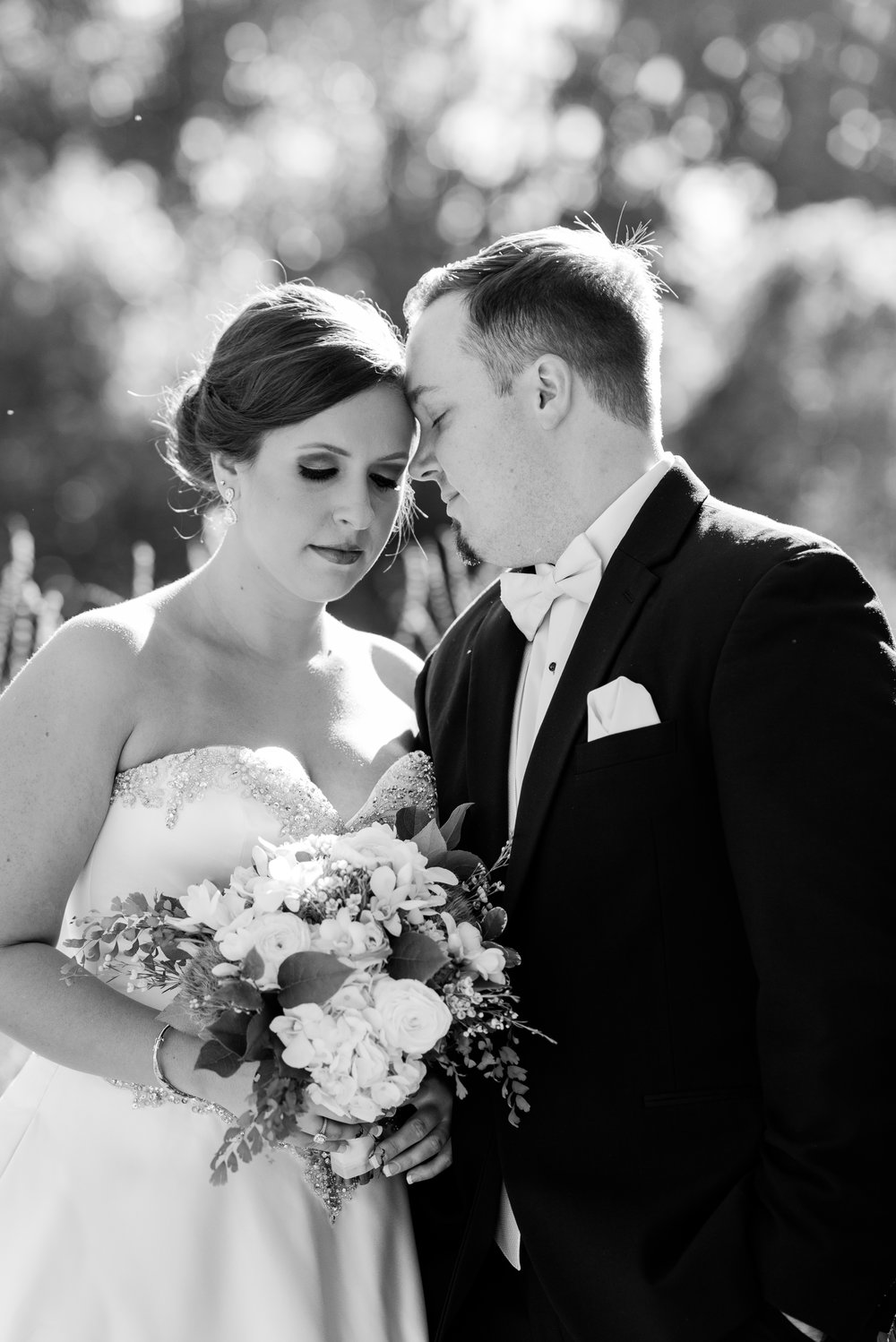 Bride and Groom Portraits - A Black Tie, South Carolina Commerce Club Wedding
