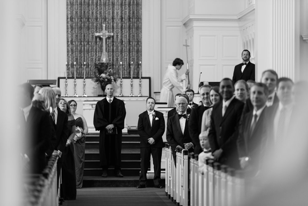 Church Wedding - A Black Tie, South Carolina Commerce Club Wedding