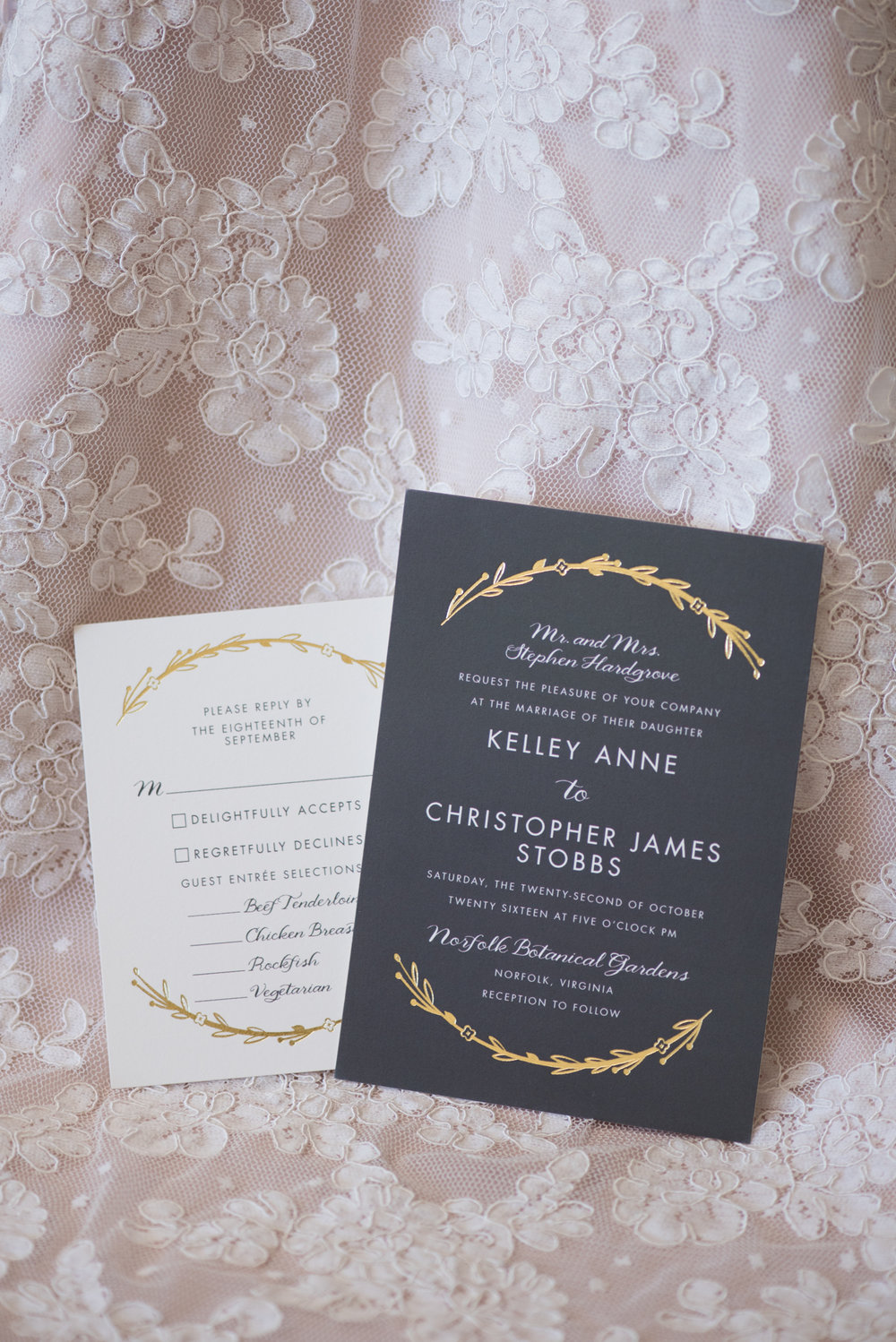 Charcoal Wedding Invitations - Travel Themed Wedding - Caitlin Gerres Photography