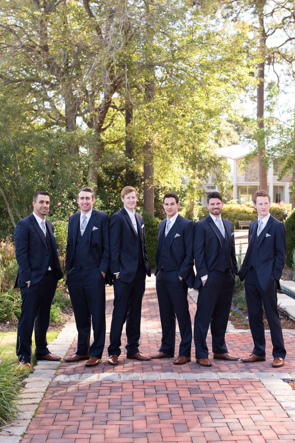 Groomsmen - Travel Themed Wedding - Caitlin Gerres Photography
