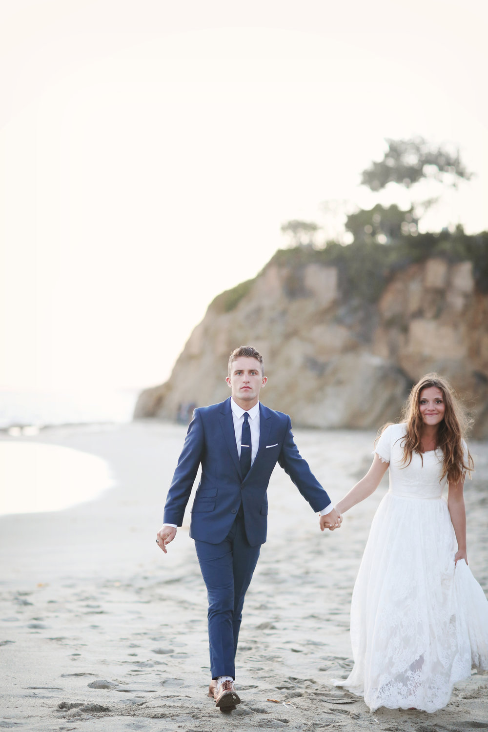 Orange County Beach Wedding - Orange County Wedding Photographer - Bleudog Fotography