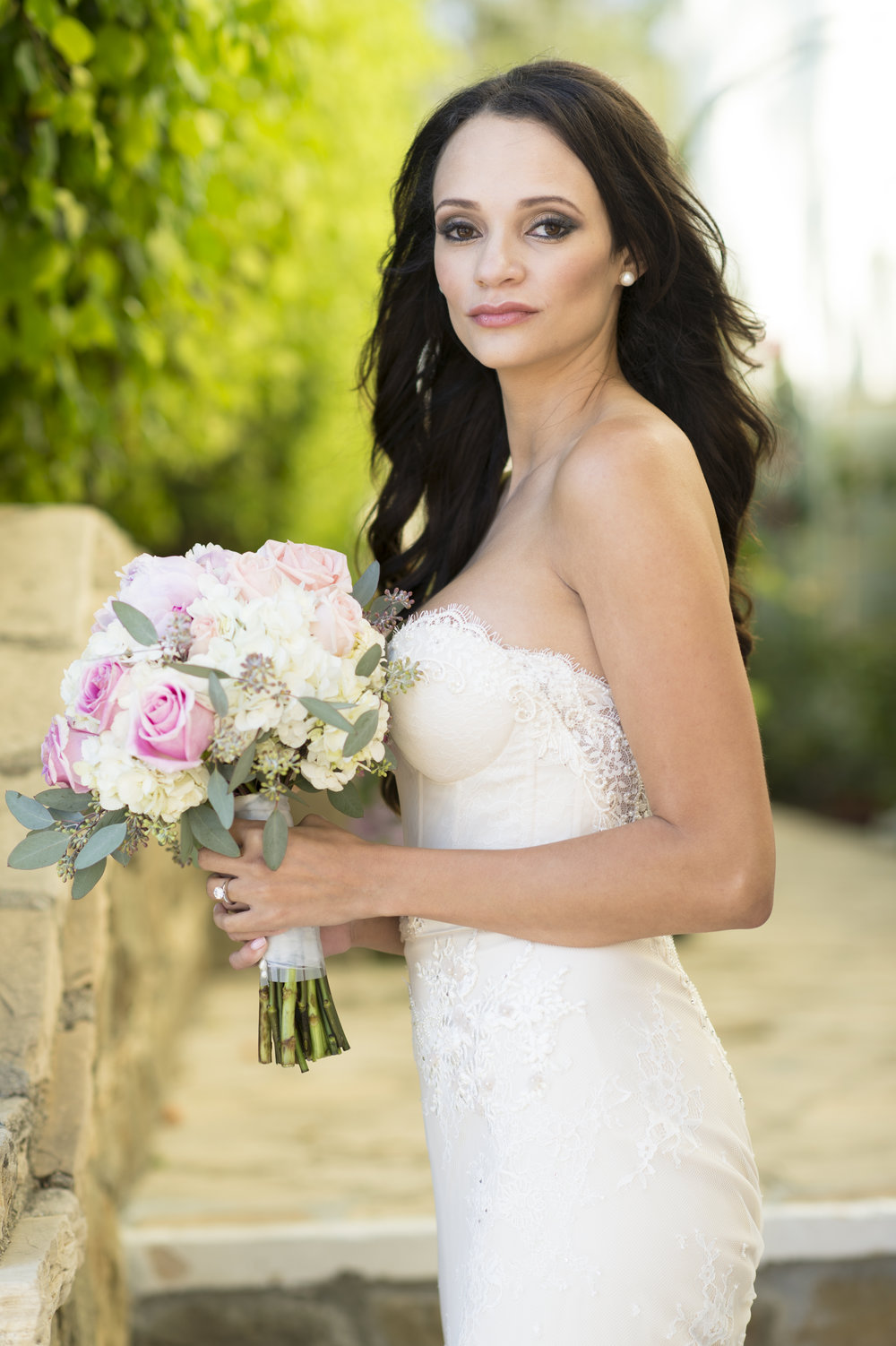 Bride Portraits - A Romantic Bel Air Bay Club Ocean-View Wedding - Southern California Wedding - Kevin Dinh Photography