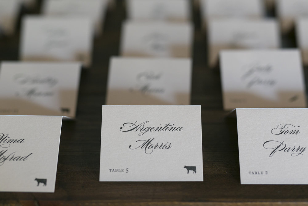 Wedding Seating Cards - A Romantic Bel Air Bay Club Ocean-View Wedding - Southern California Wedding - Kevin Dinh Photography