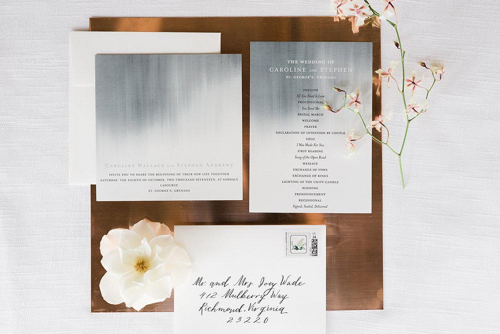 Modern Beach Chic Wedding Ceremony Inspiration — The Overwhelmed ...