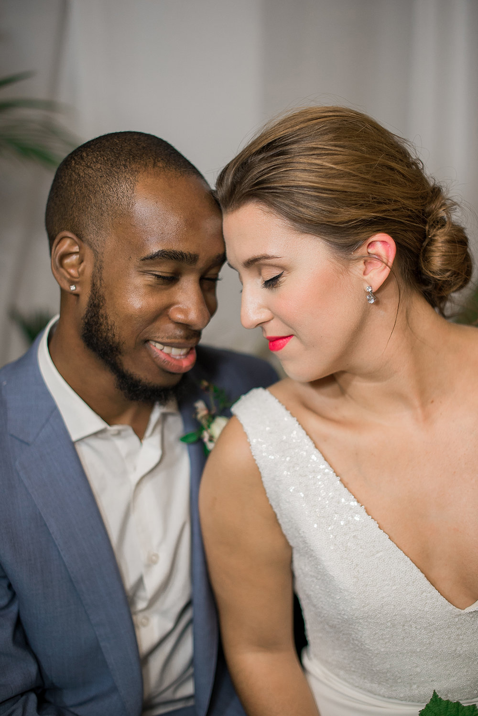Beach Wedding Dress - Modern Beach Chic Wedding Ceremony Inspiration