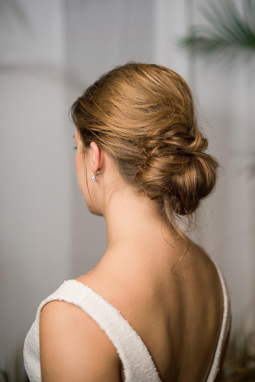 Bach Wedding Hairstyles - Beach Wedding Dress - Modern Beach Chic Wedding Ceremony Inspiration
