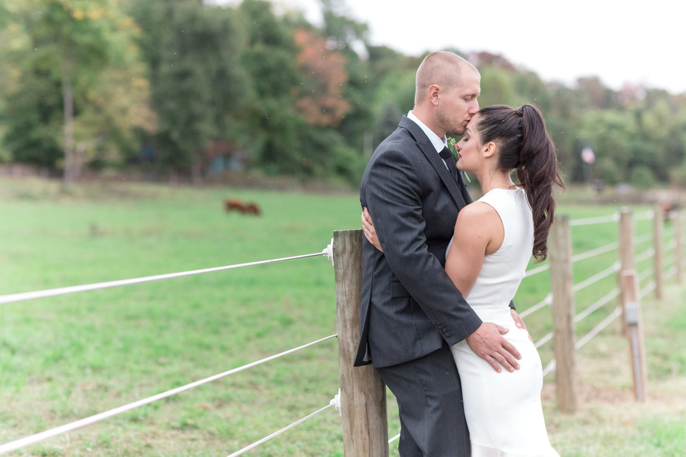 A Relaxed DIY New Jersey Farm Wedding - Barn Wedding