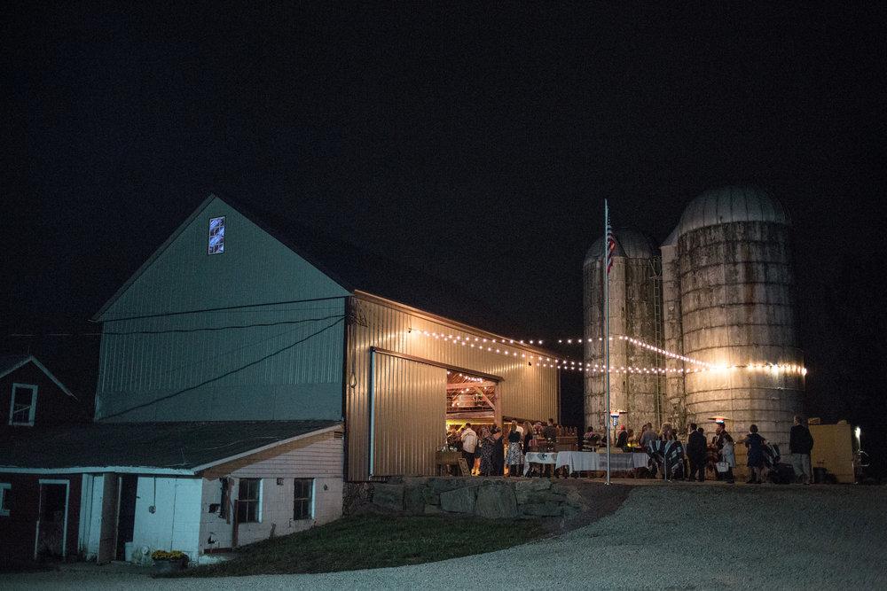A Relaxed DIY New Jersey Farm Wedding - Barn Wedding