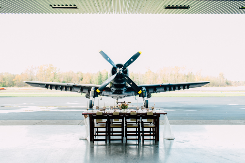 Vintage Aviation Styled Wedding Shoot - Katheryn Moran Photography