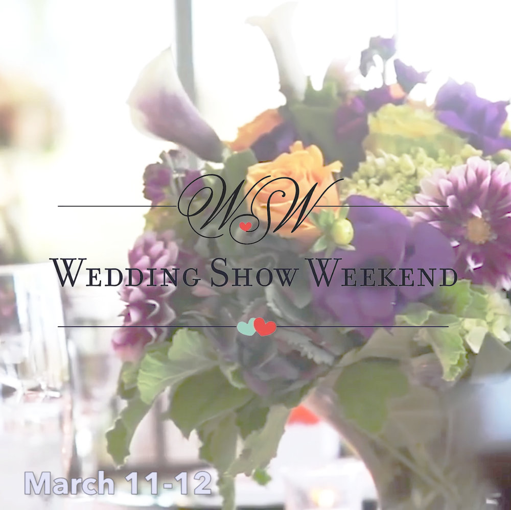 Why Wedding Shows Are A Must for Engaged Couples | #WeddingShowWeekend2017 - Country Club Receptions