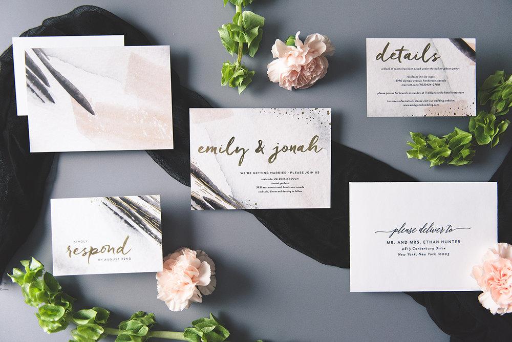 Wedding Invitation Sample Kits