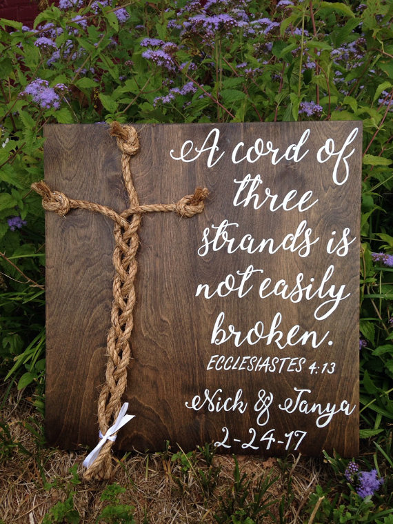 31 wooden wedding signs the overwhelmed bride wedding blog tie the knot wooden wedding sign junglespirit Choice Image