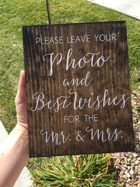 Wooden Wedding Signs