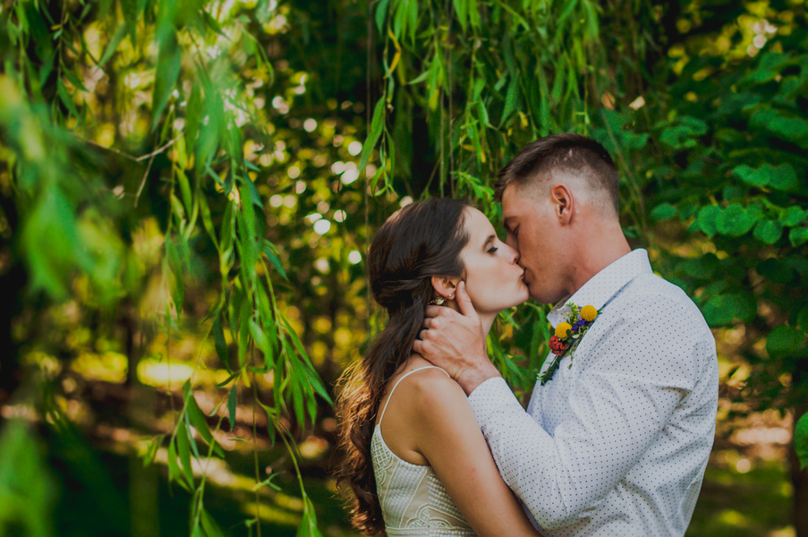A Forest Wedding Ceremony - Melissa Cervantes Photography