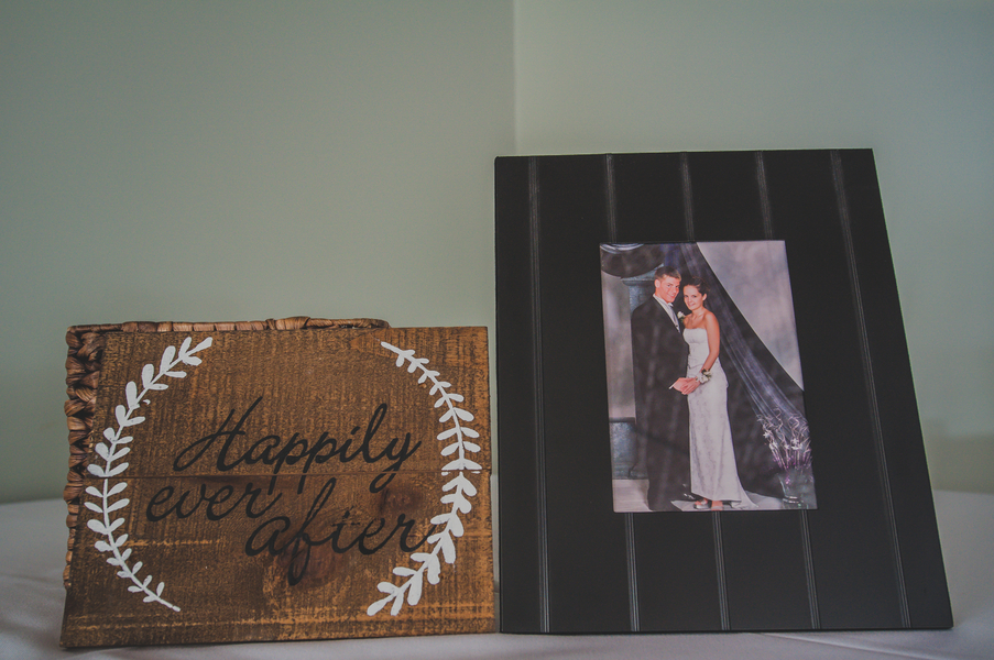 Wooden Wedding Sign - The Loft on Jefferson Wedding, Iowa Wedding Venue - Melissa Cervantes Photography