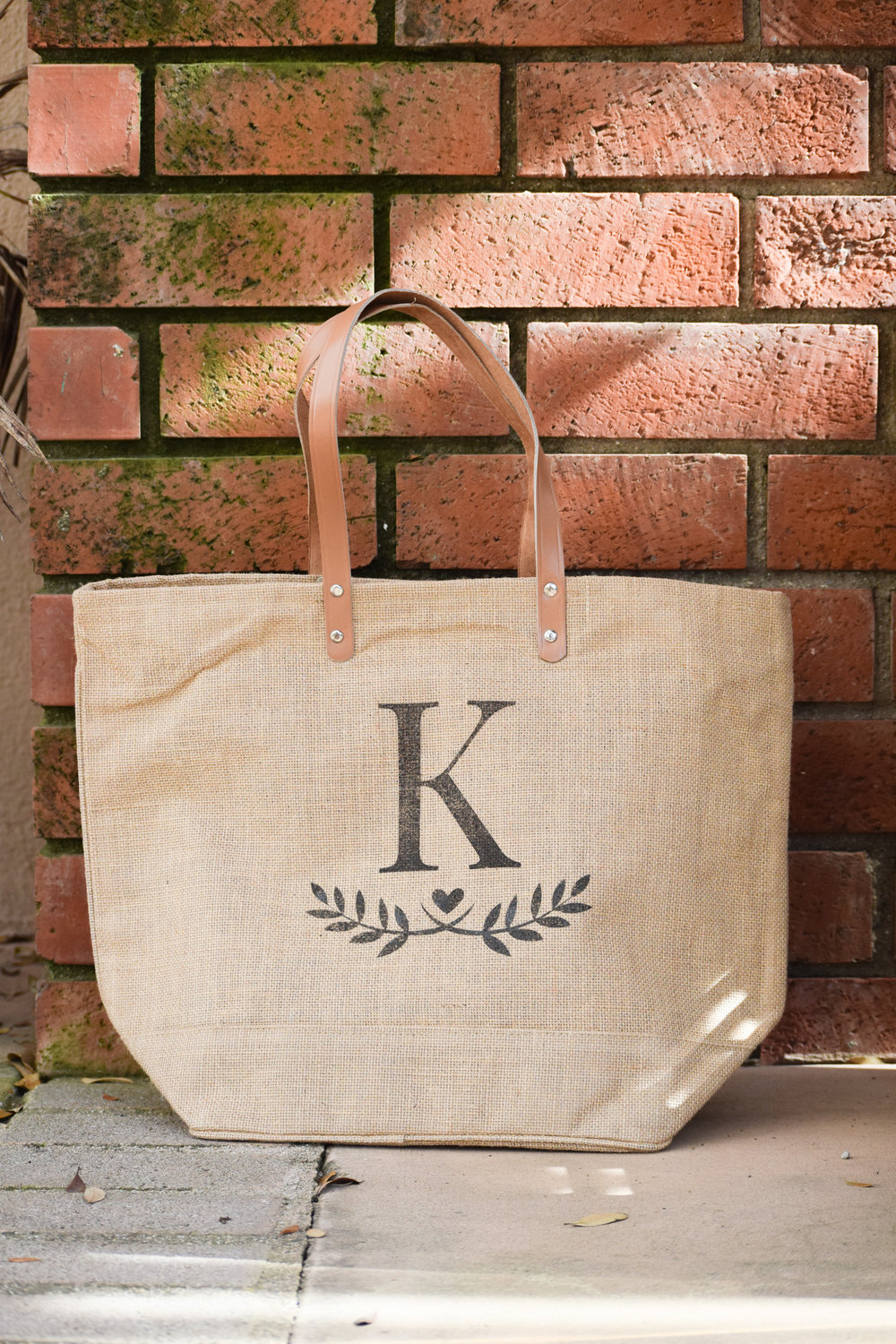 The Bridal Boutique - Burlap Bridesmaid Tote - Bridesmaid Gift Bags - Emma and the Bean