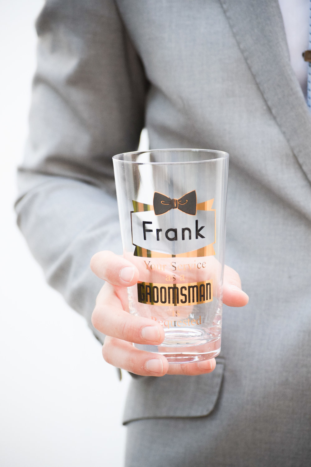 Groomsman Proposal Gift Ideas -- Groomsman Proposal Beer Glass - Things Remembered