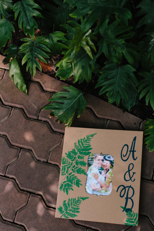 A Botanical Gardens Budget Wedding - From Britt's Eye View Photography
