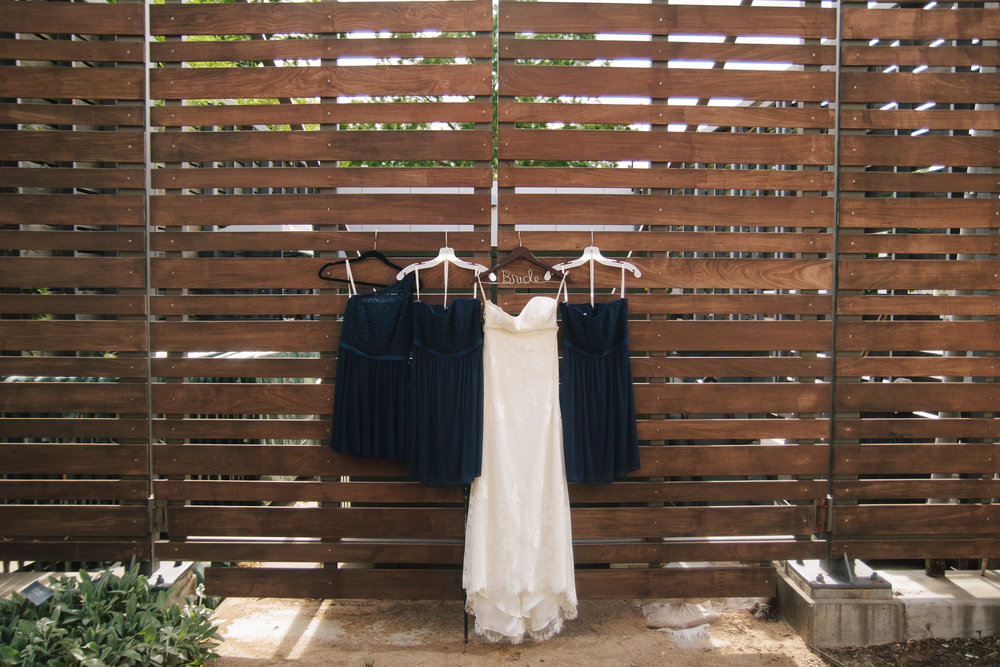 Navy Bridesmaid Dresses - A Botanical Gardens Budget Wedding - From Britt's Eye View Photography