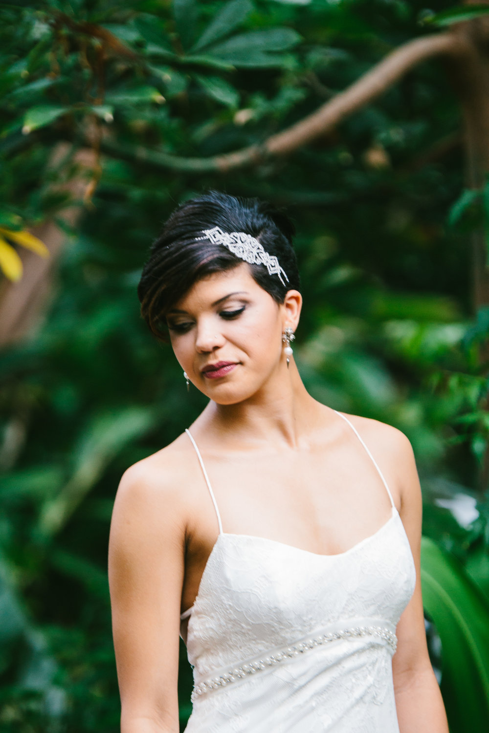 Gorgeous Brides - A Botanical Gardens Budget Wedding - From Britt's Eye View Photography