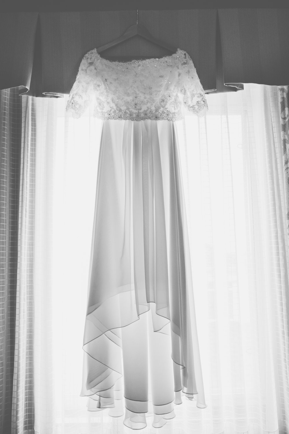 Wedding Dresses for Older Women - A Simple Purple + White Wedding by From Britt's Eye View