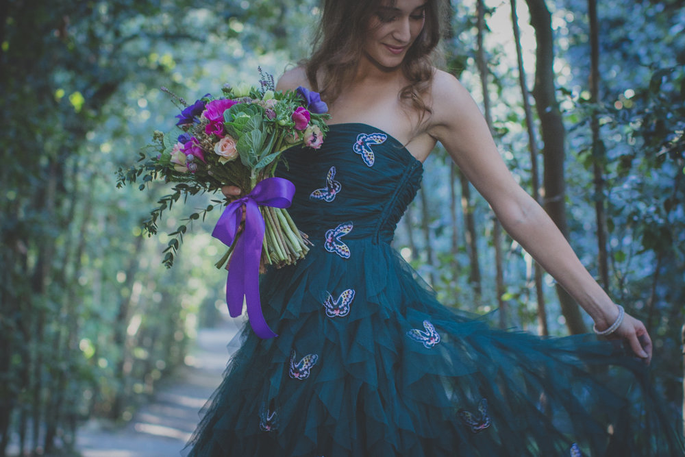 A Garden Wedding-Inspired Styled Shoot - Rosapaola Lucibelli Photography