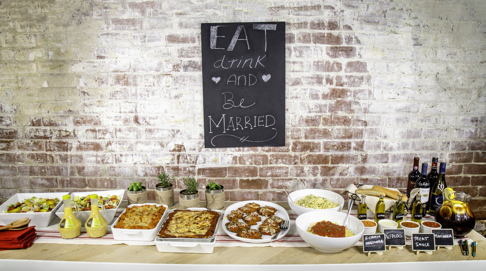 Olive Garden Catering - Easy DIY Rehearsal Dinner Ideas