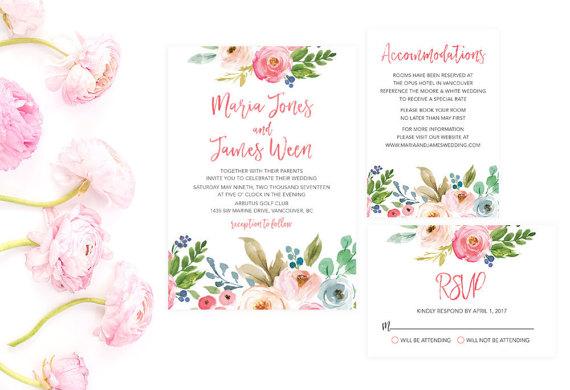 Summer Wedding Invitations