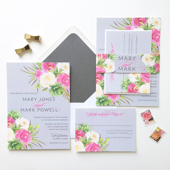 32 Summer Wedding Invitations
