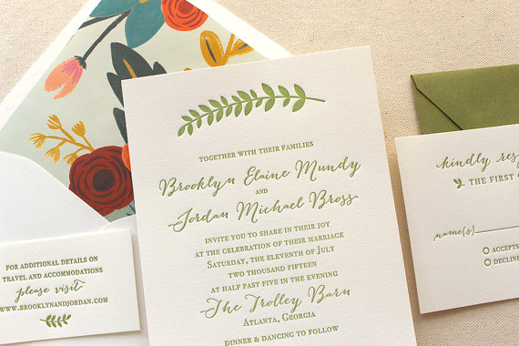 summer wedding invitations - Summer Wedding Invitations